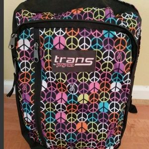 JANSPORT BACKPACK with laptop sleeve, black/multi
